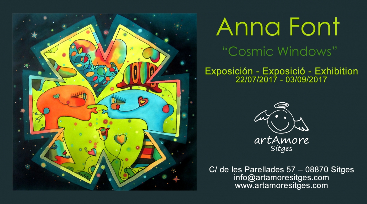 Anna Font ?Cosmic Windows?