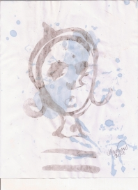 Abstracción del rostro Humano #21