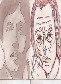 Abstracción del rostro Humano (Oscar Wilde) y (Francisco de Miranda) #27