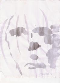 Abstracción del rostro Humano #22
