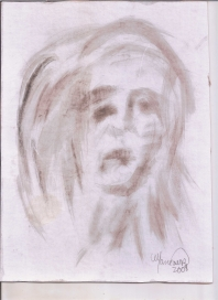 Abstracción del rostro Humano #23