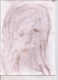 Abstracción del rostro Humano #24