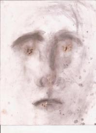 Abstracción del rostro Humano #26