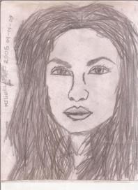 Abstracción del rostro Humano #37
