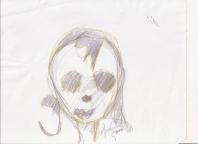 Abstracción del rostro Humano #43