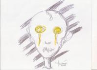 Abstracción del rostro Humano #45