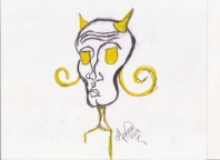 Abstracción del rostro Humano #46