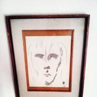 Abstracción del rostro Humano (Homenaje a El vagabundo de Khalil Gibran) #40