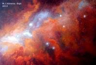 nebulosa naranja