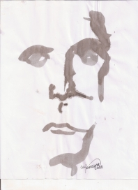 Astracción del rostro Humano #1