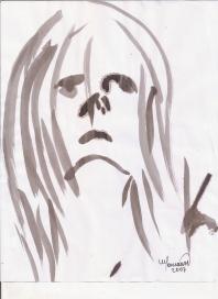 Abstracción del rostro Humano #10