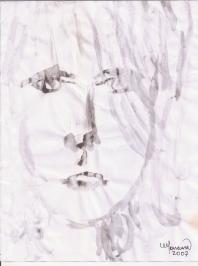 Abstracción del rostro Humano #11