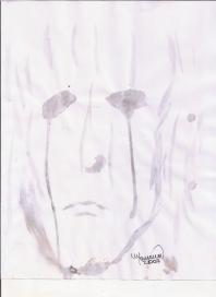 Abstracción del rostro Humano #12