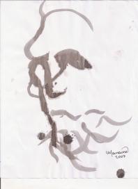 Abstracción del rostro Humano #14