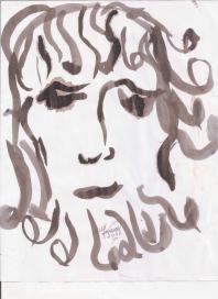 Abstracción del rostro Humano #15