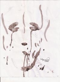 Abstracción del rostro Humano #16