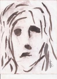 Abstracción del rostro Humano #17