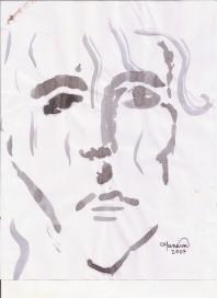 Abstracción del rostro Humano #19