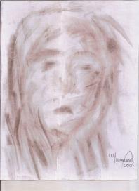 Abstracción del rostro Humano #25