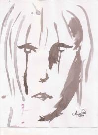 Abstracción del rostro Humano #3