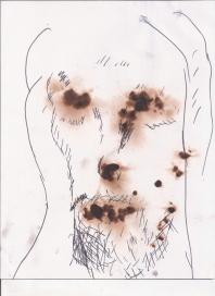 Astracción del rostro Humano #33