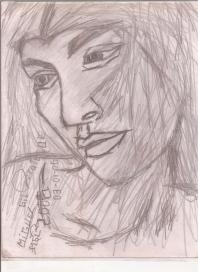 Abstracción del Rostro Humano (boceto) San Miguel #36