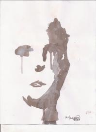 Abstracción del rostro Humano #4