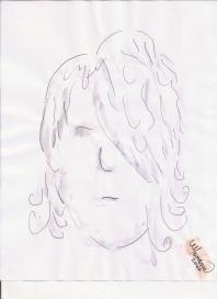 Abstracción del rostro Humano #5