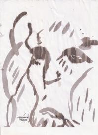 Abstracción del rostro Humano #6