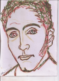 Abstracción del rostro Humano Homenaje a Bolívar #32