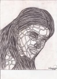 Abstracción del rostro Humano (Geométrica Figurativa) #35