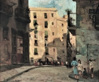 Calle de Barcelona 1946