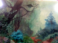 Camno en la selva