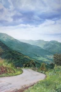 Carretera de montaña Valle de Aran