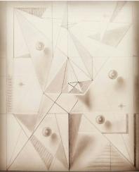 Composición abstracto geométrica