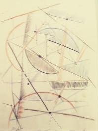 Construcción geométrica con semiesferas