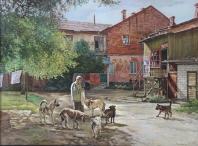 El patio viejo