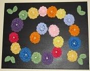 Espiral de flores