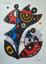FORMA,COLOR Y PUNTO SOBRE PAPEL-2