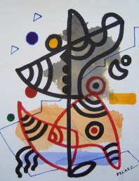 IMPROVISATION(FORM,LINE AND COLOR)-4