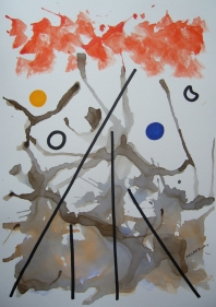 IMPROVISATION(LINE AND COLOR)-4