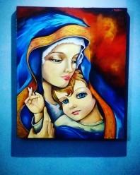 La virgen y el niño