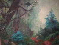 Luz en la selva 50 x 60 cm