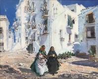 Maternidad y casas blancas Ibiza