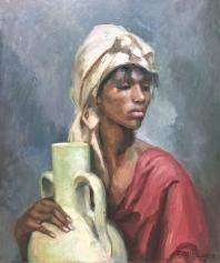 Mujer con cántaro