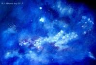 Nebulosa en azul
