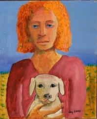 Noia amb Gos