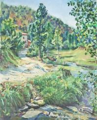 Paisaje con rio