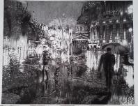 Paseo bajo la lluvia II
