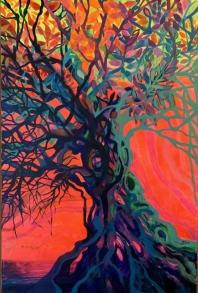 Pink Psychodelia Tree